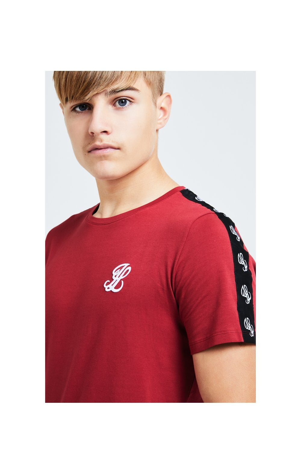 Illusive London Gravity Tape Tee - Red