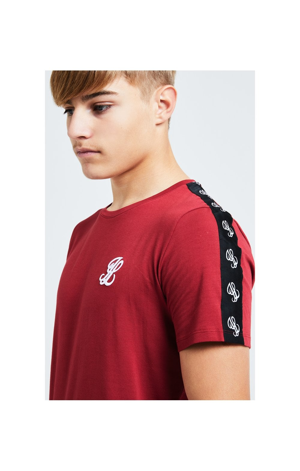 Illusive London Gravity Tape Tee - Red (1)