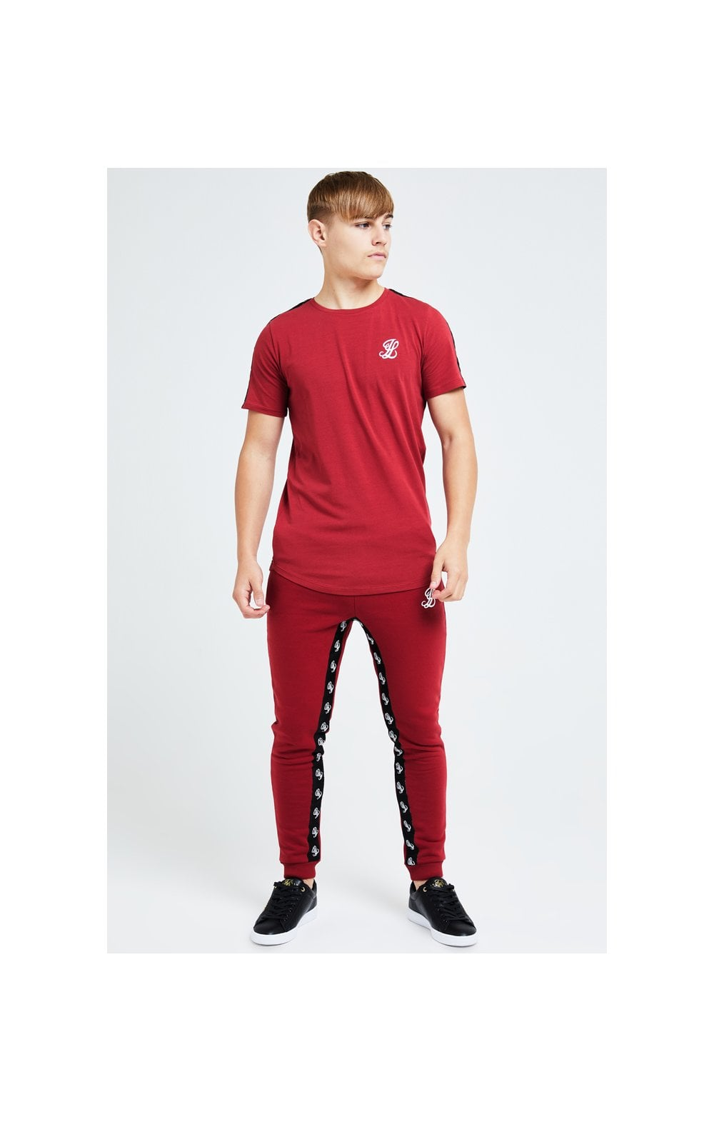 Illusive London Gravity Tape Tee - Red (5)