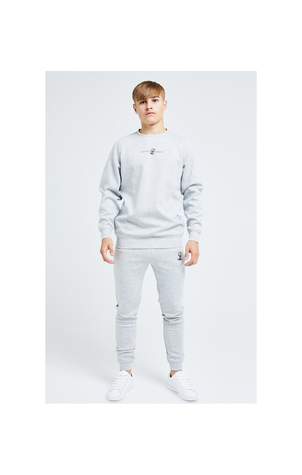 Illusive London Dual Crew Sweater - Grey (2)