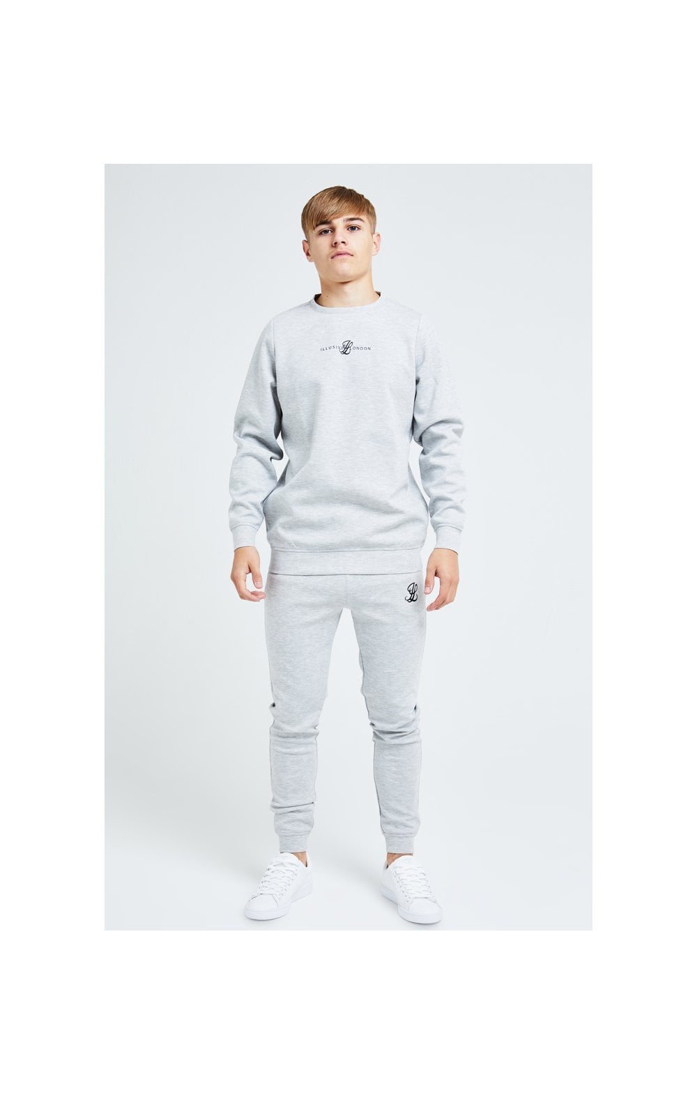 Illusive London Dual Crew Sweater - Grey (4)