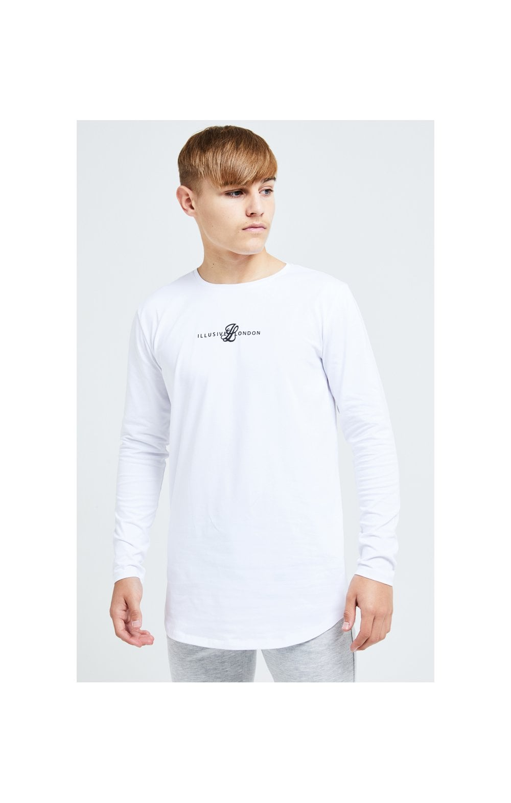 Illusive London Dual L/S Tee - White