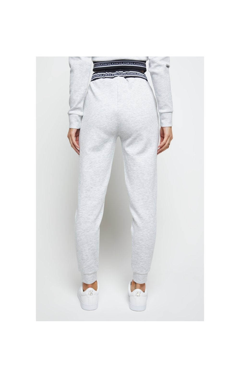 SikSilk Element Track Pants - Grey Marl (2)