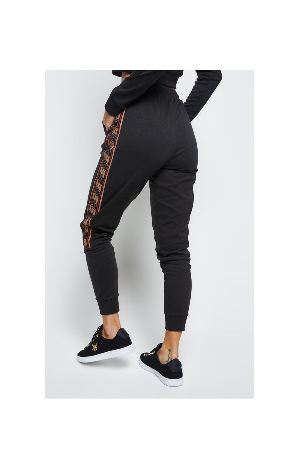 SikSilk Distinction Track Pants - Black (3)