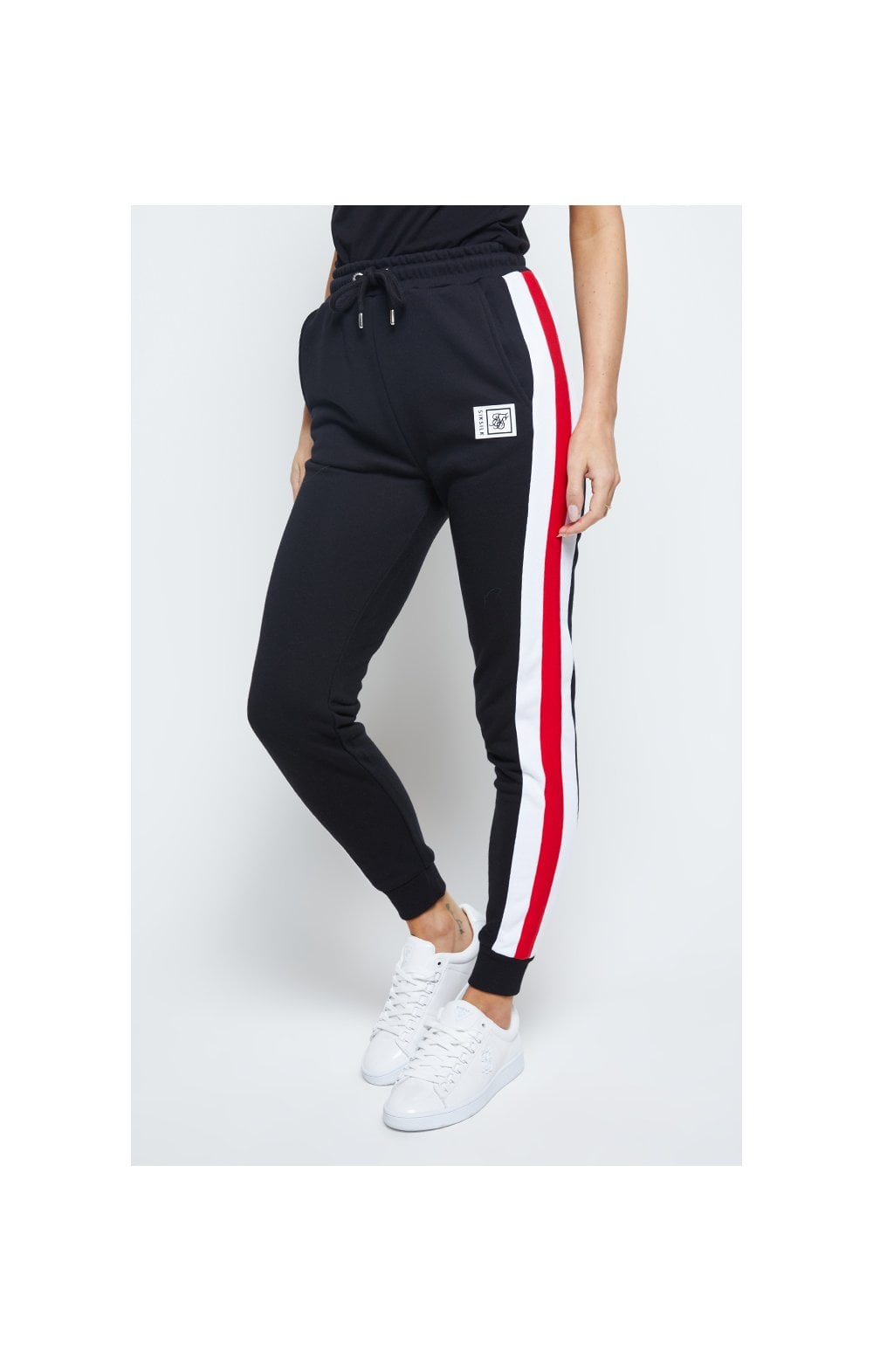 SikSilk Sports Luxe Track Pants - Black