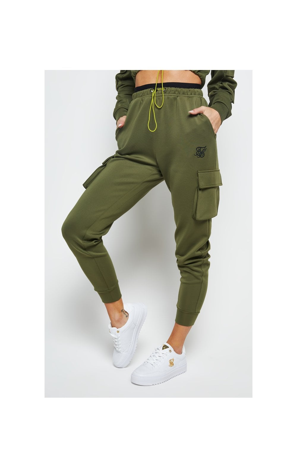 Load image into Gallery viewer, SikSilk Cargo Jogger - Khaki