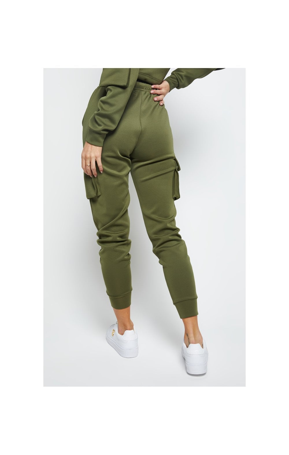Load image into Gallery viewer, SikSilk Cargo Jogger - Khaki (1)