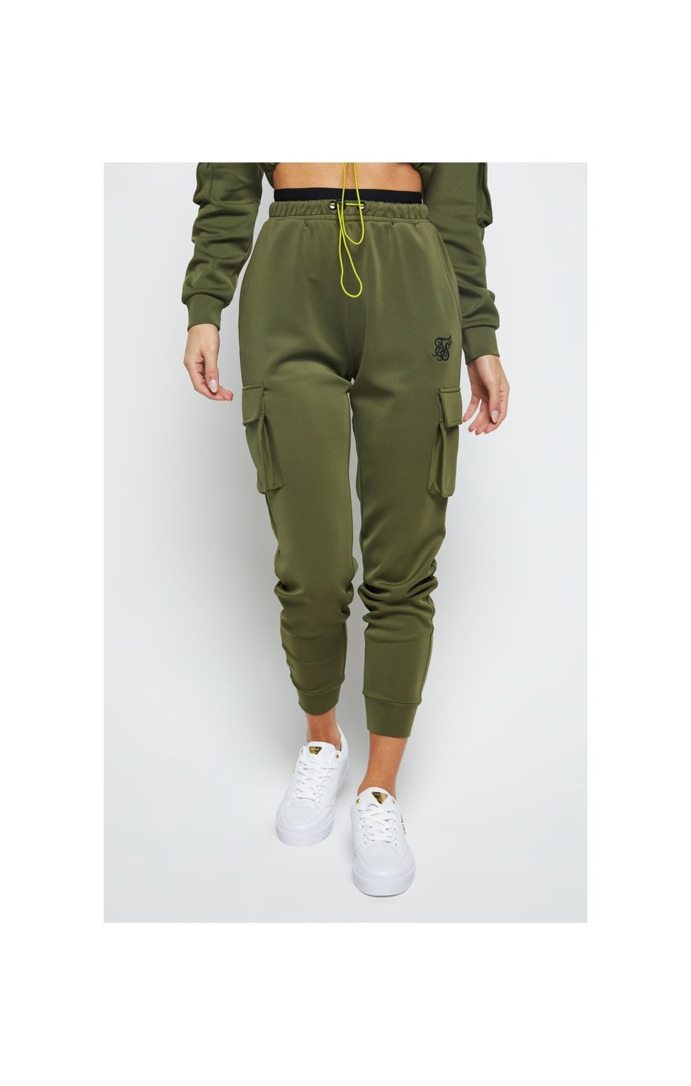 Load image into Gallery viewer, SikSilk Cargo Jogger - Khaki (2)