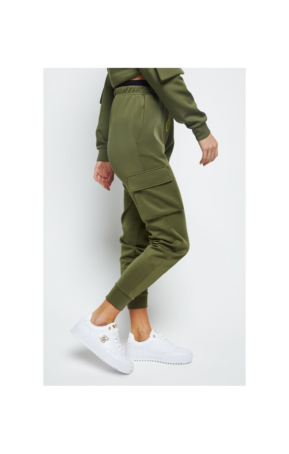 Load image into Gallery viewer, SikSilk Cargo Jogger - Khaki (3)