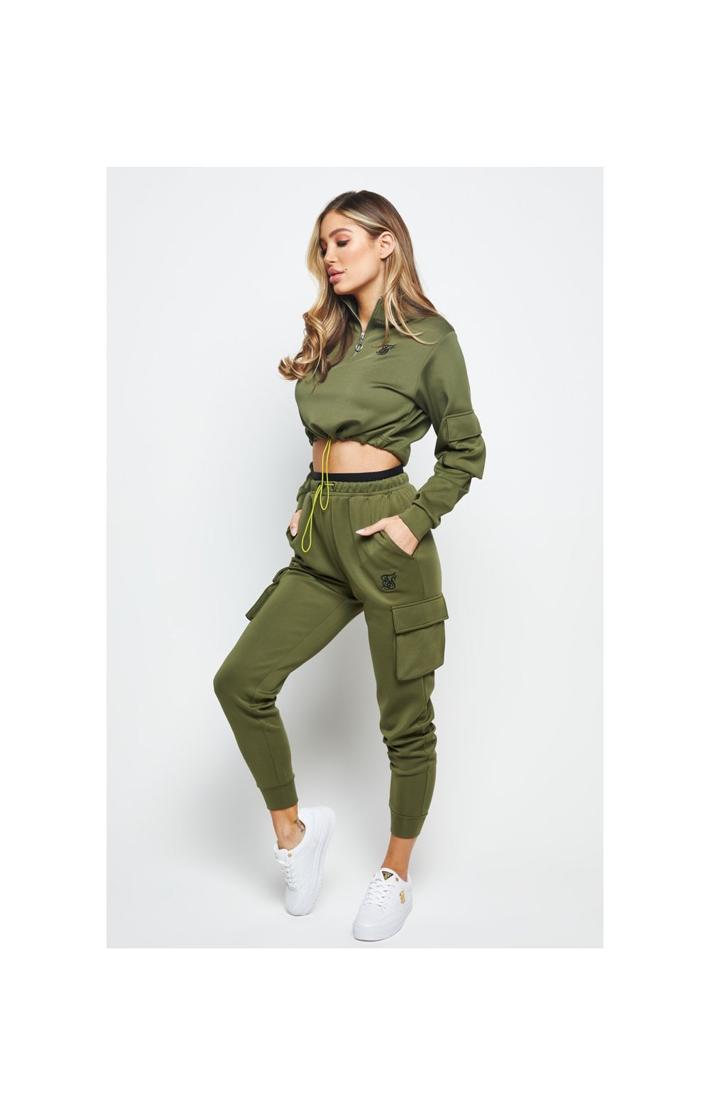 Load image into Gallery viewer, SikSilk Cargo Jogger - Khaki (4)