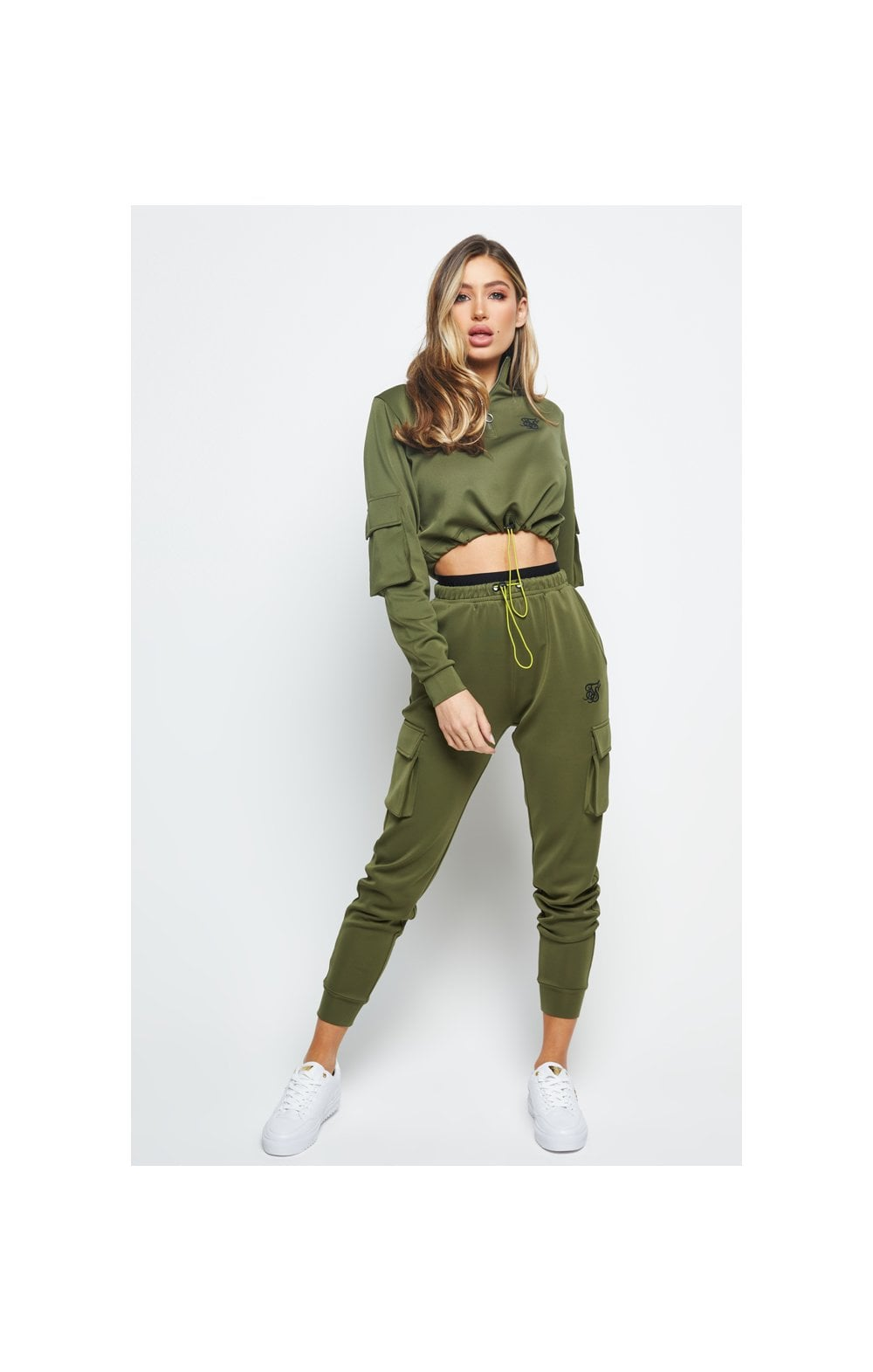 Load image into Gallery viewer, SikSilk Cargo Jogger - Khaki (5)