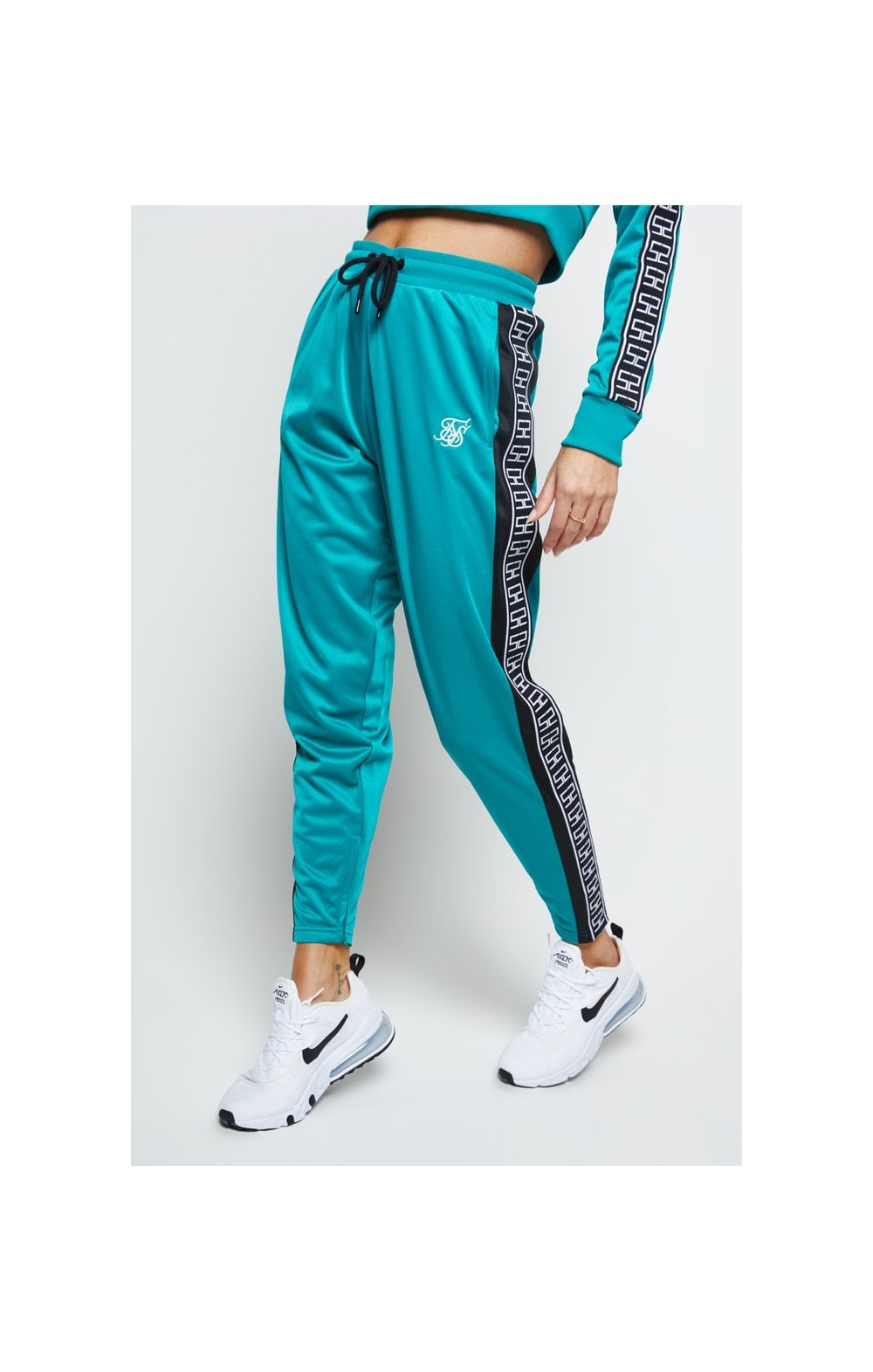 Load image into Gallery viewer, SikSilk Azure Track Pants - Teal (2)