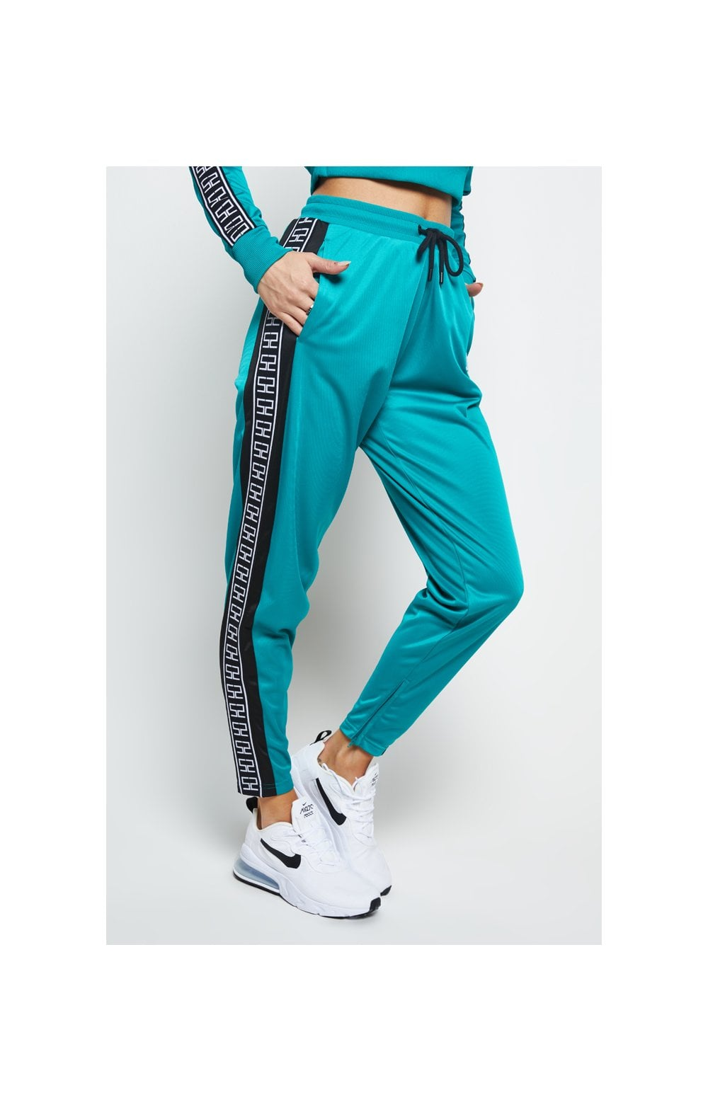 Load image into Gallery viewer, SikSilk Azure Track Pants - Teal (3)