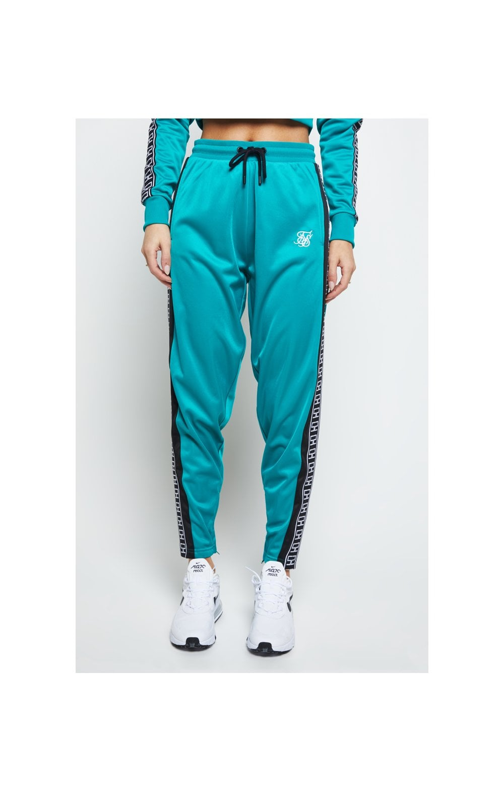 SikSilk Azure Track Pants - Teal