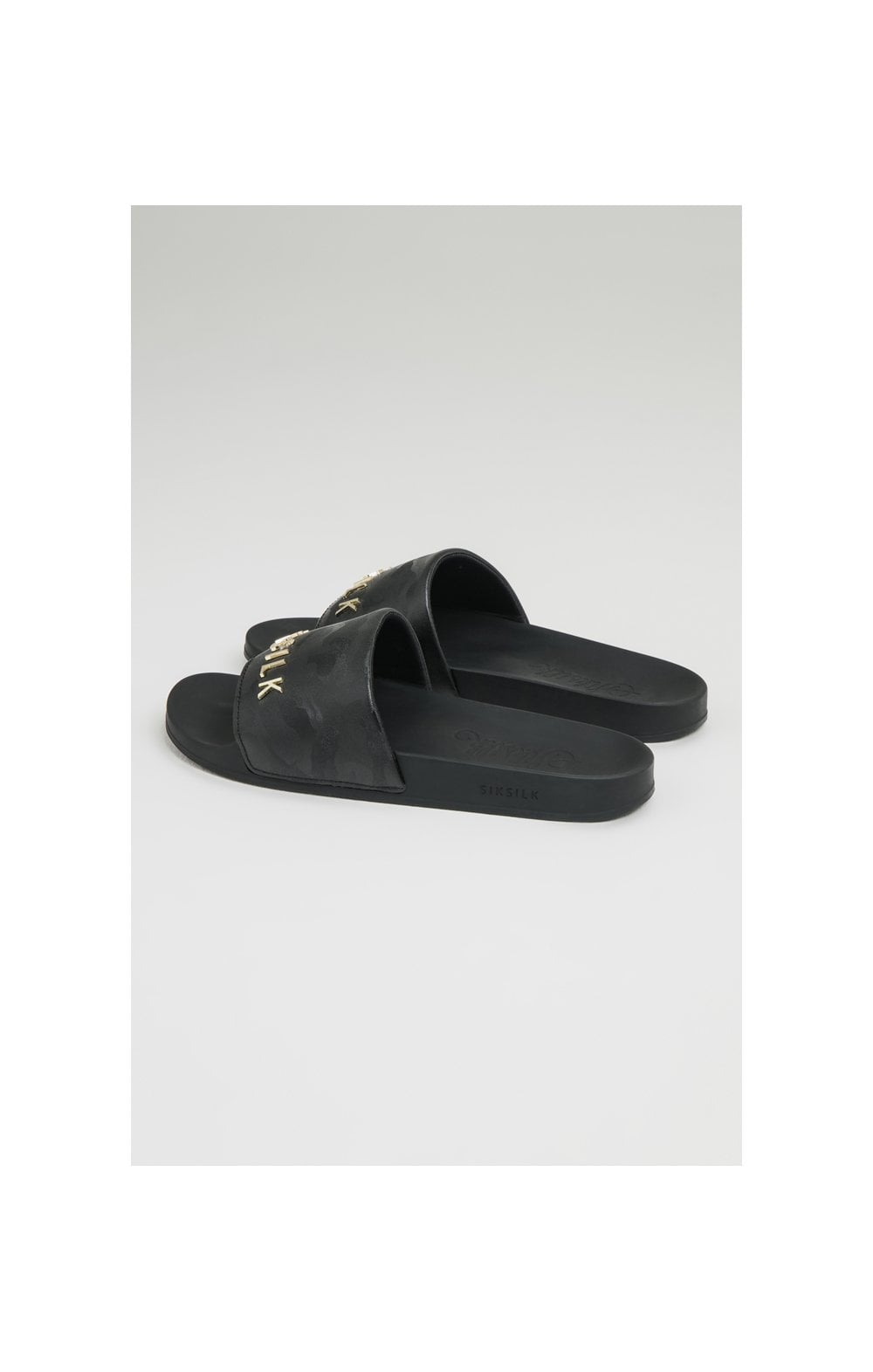 SikSilk Alpha Camo Slides - Black (3)