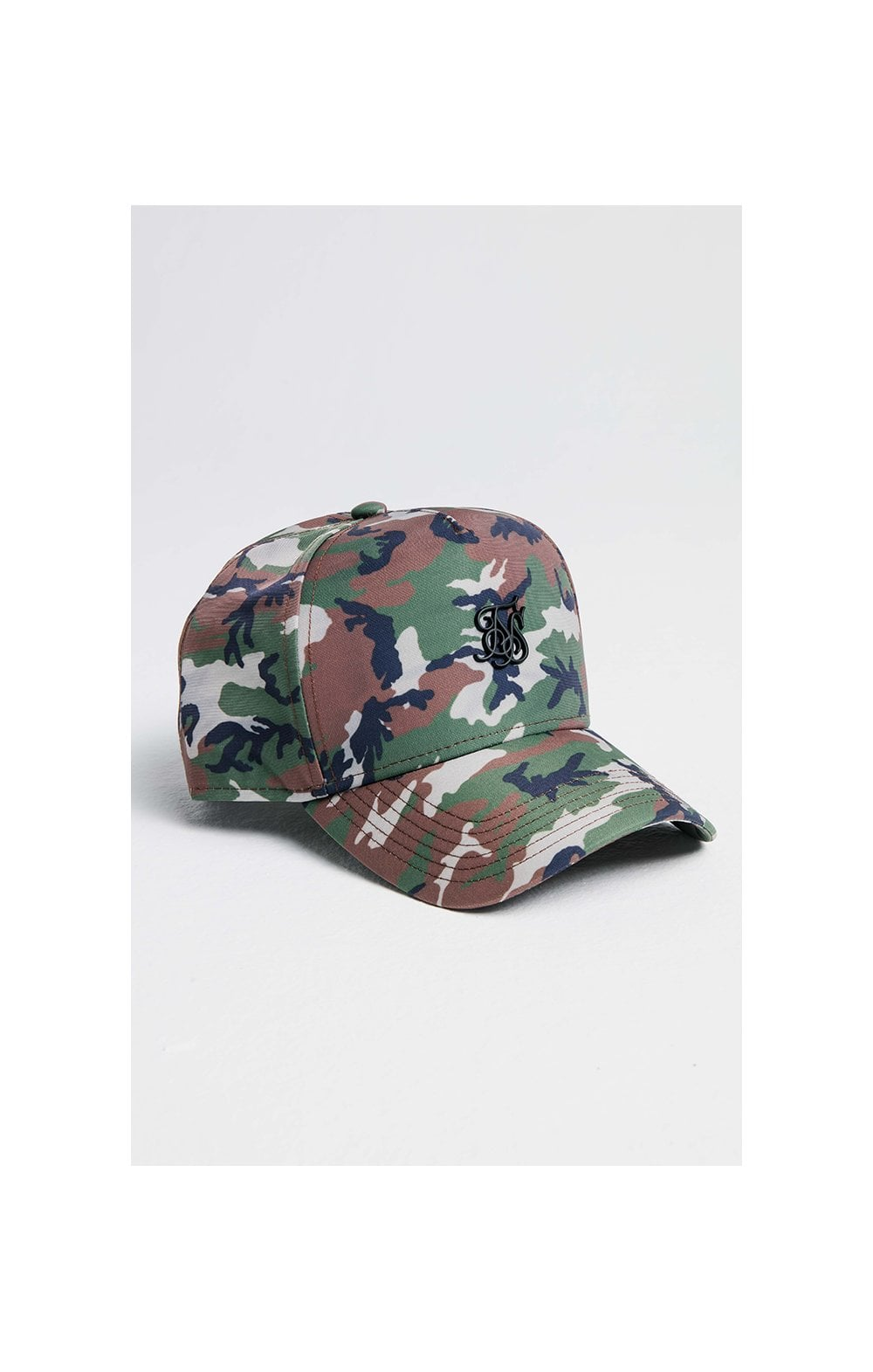 SikSilk Nylon Full Trucker - Camo