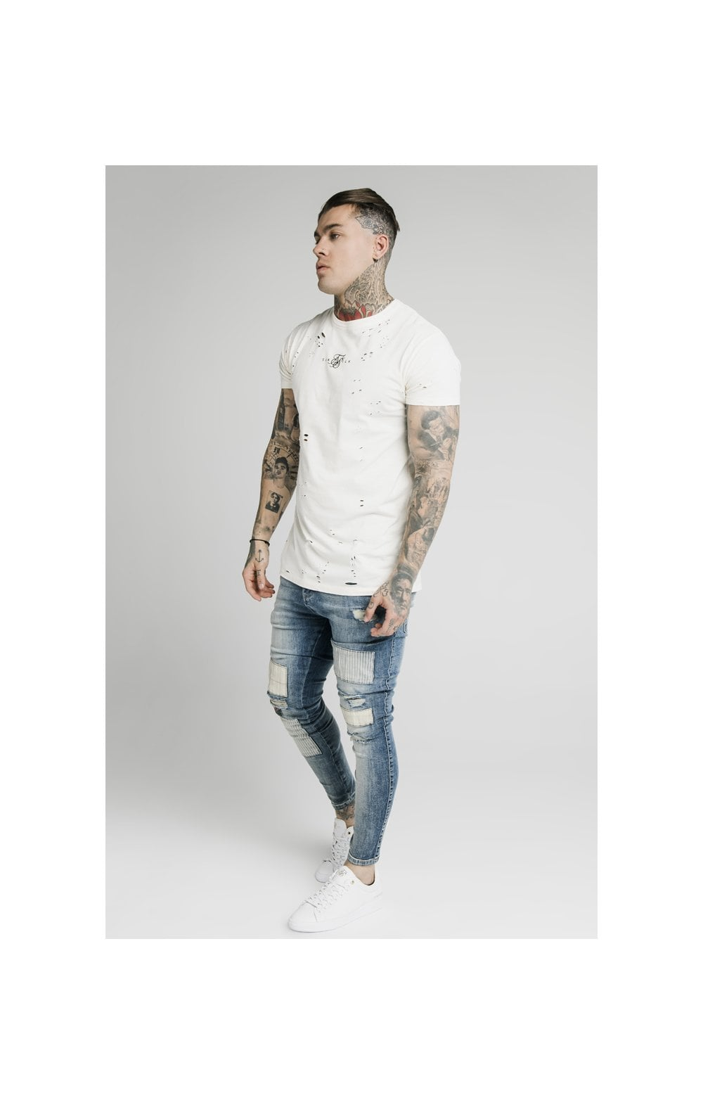 SikSilk Low Rise Fusion Denims – Midstone (6)