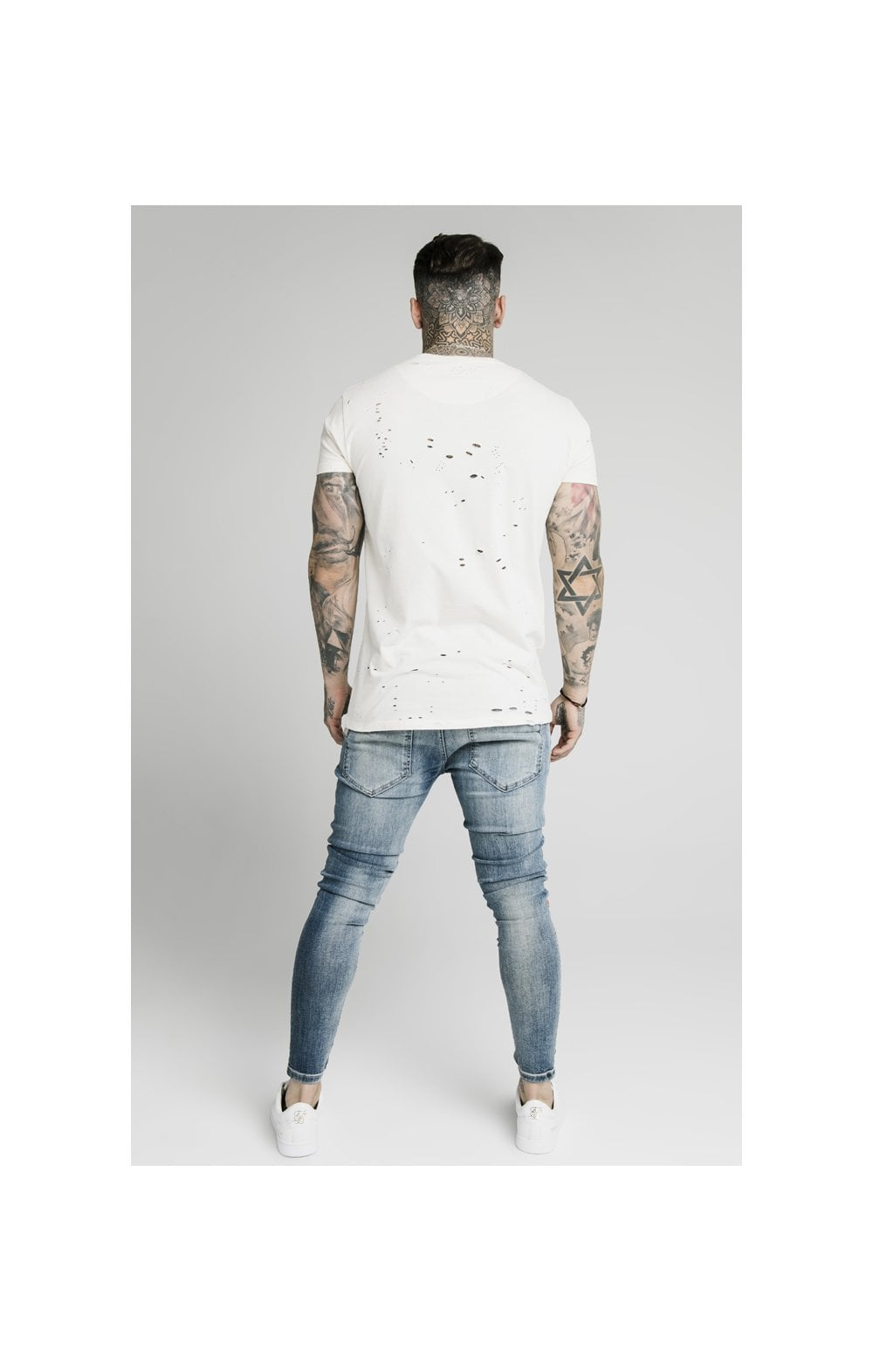 SikSilk Low Rise Fusion Denims – Midstone (7)