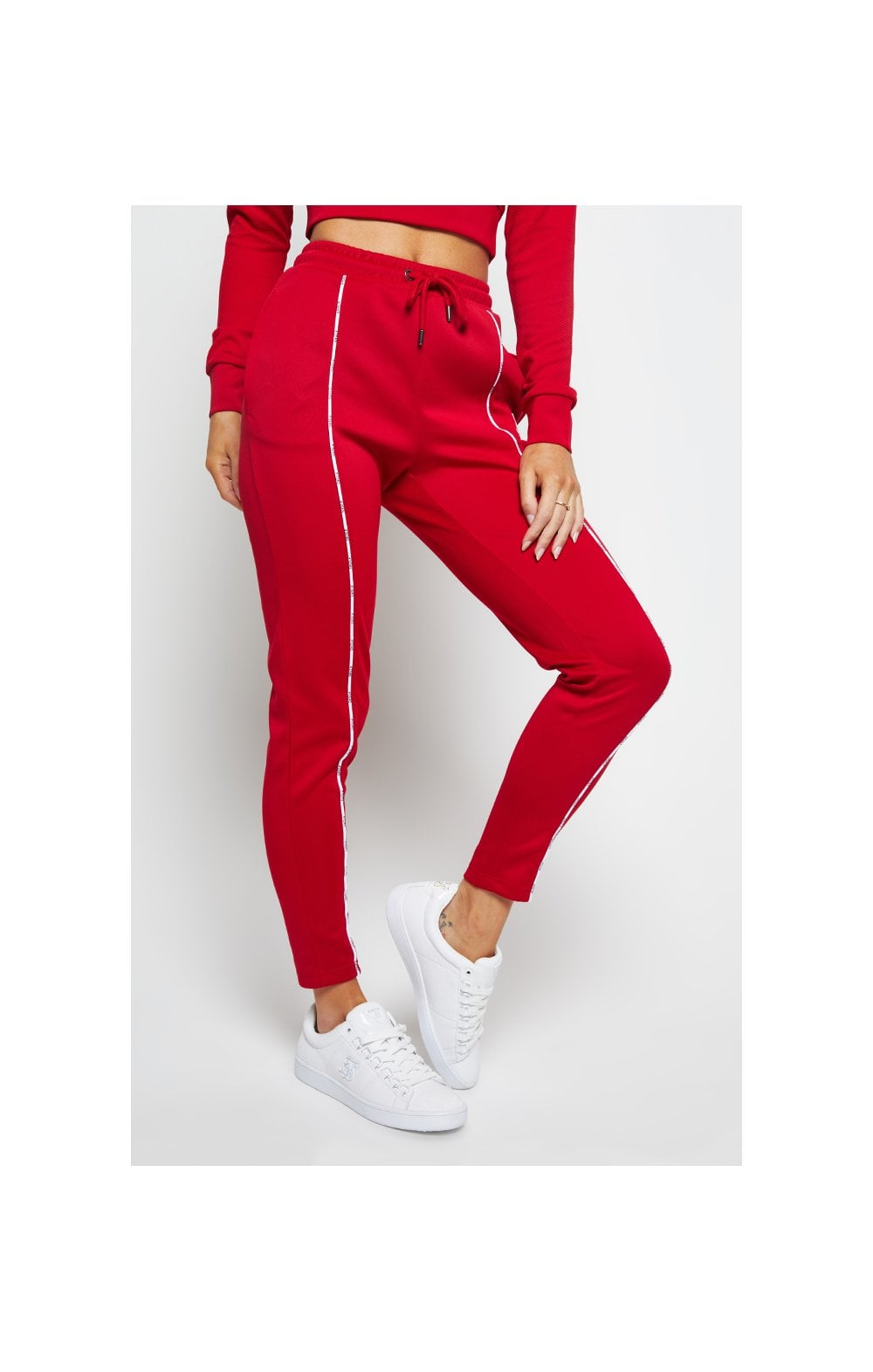 SikSilk Duality Track Pants - Red