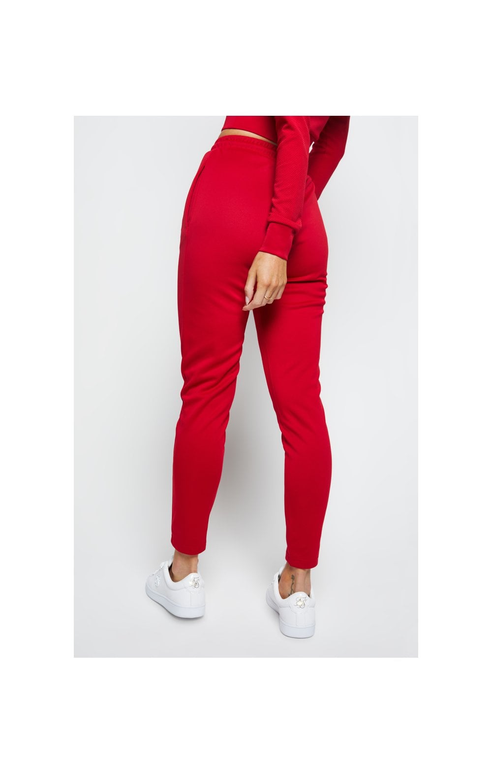 SikSilk Duality Track Pants - Red (1)