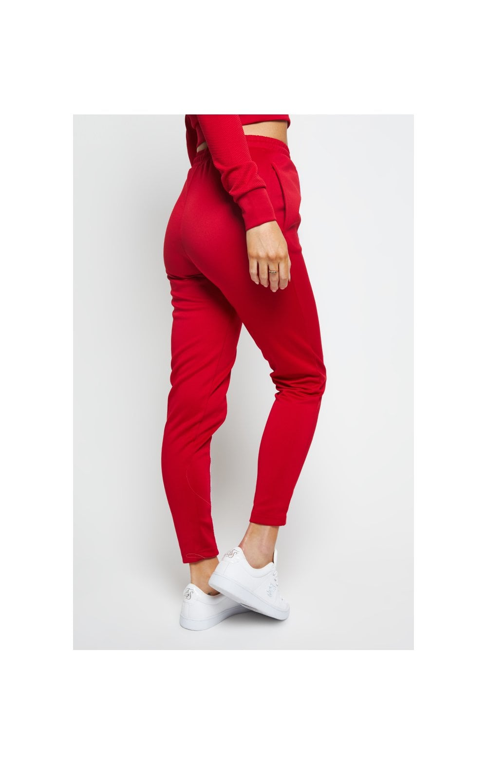 SikSilk Duality Track Pants - Red (2)