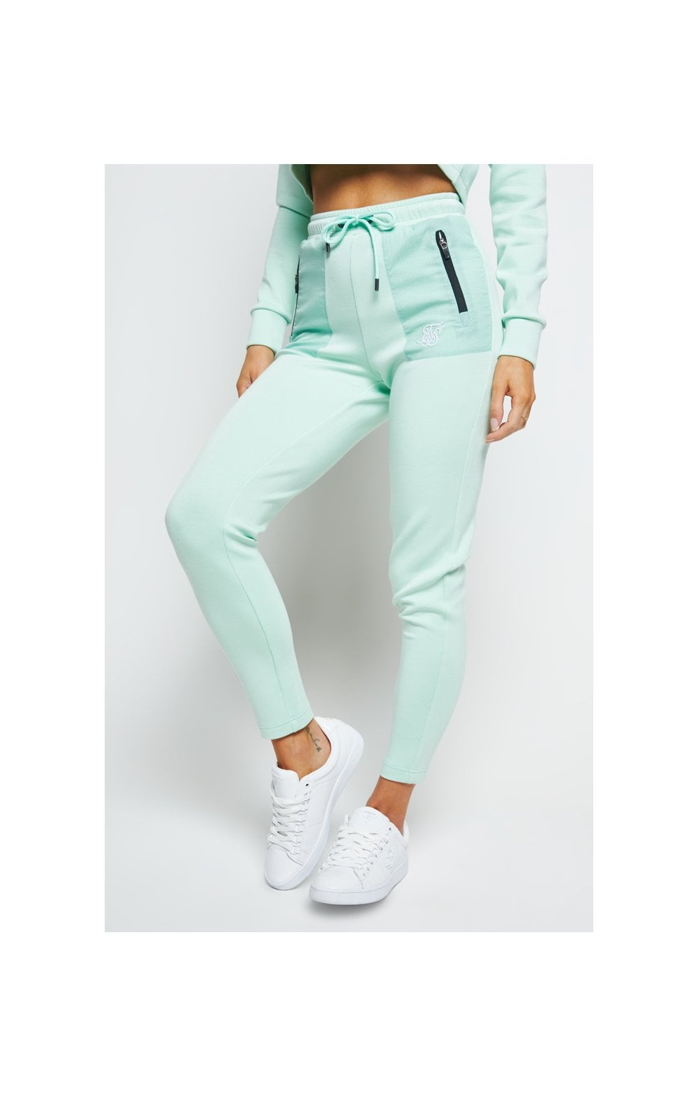 SikSilk Opal Track Pants - Mint