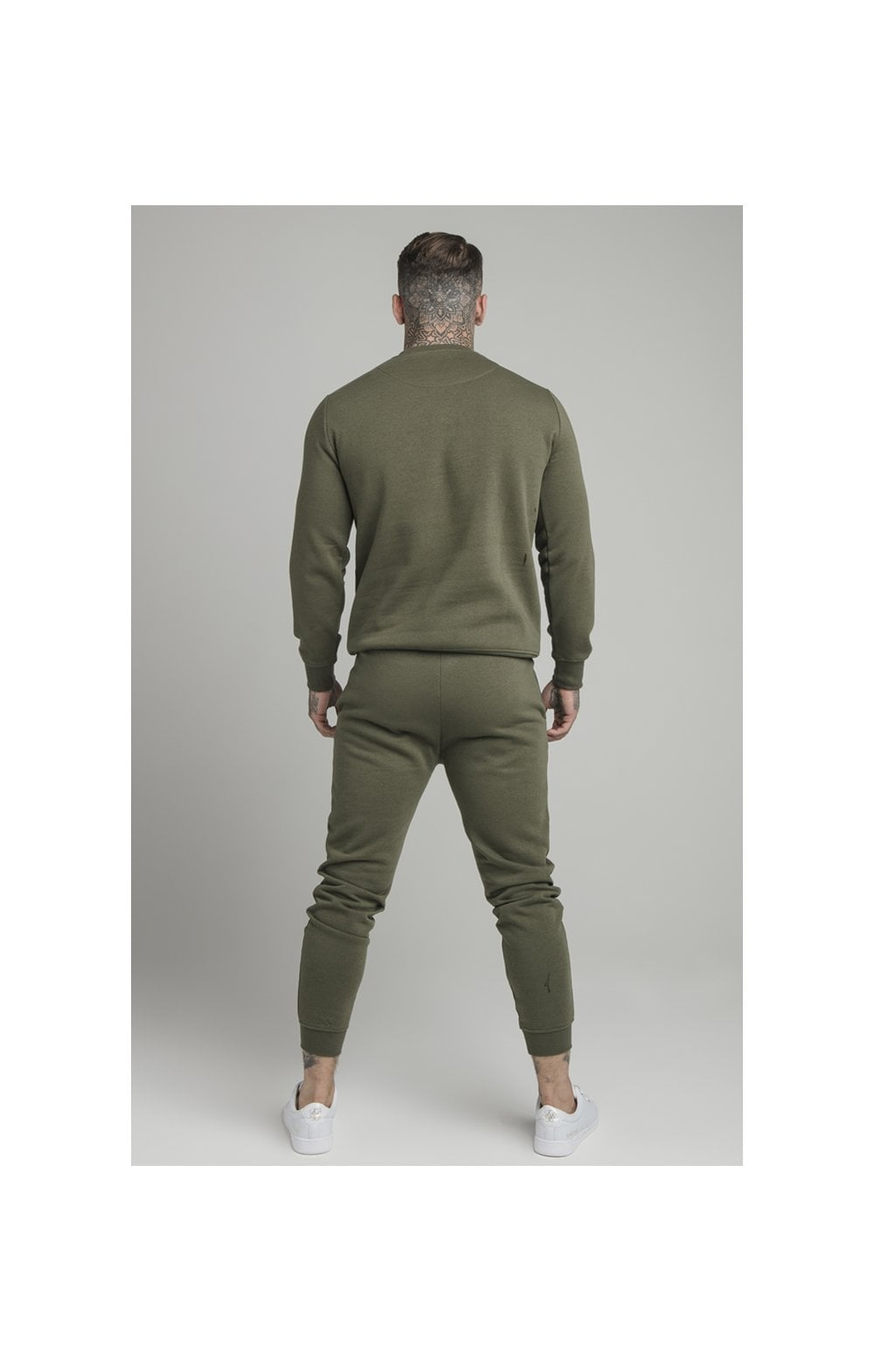 Load image into Gallery viewer, SikSilk Crew Sweat - Khaki (5)