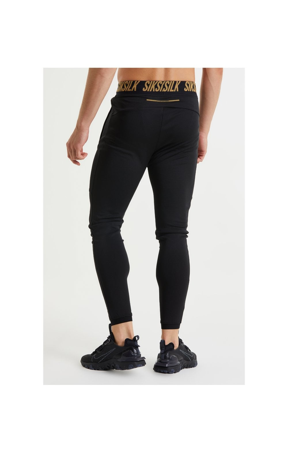 SikSilk Performance Agility Pants – Black & Gold (5)