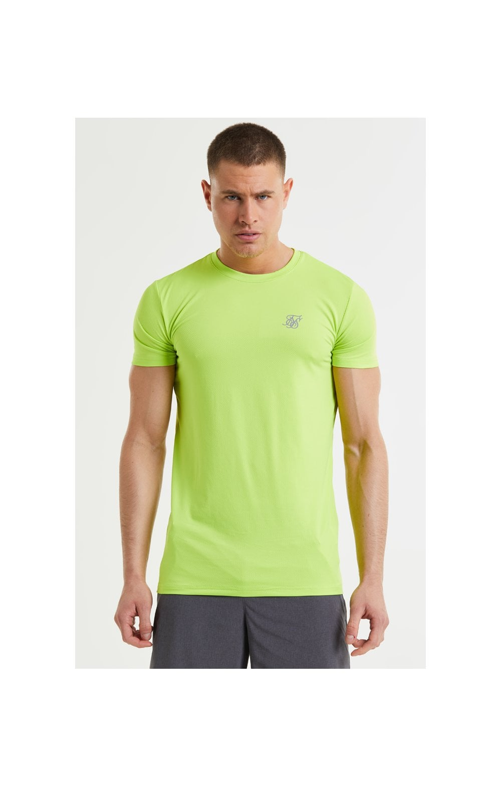 SikSilk Core Poly Tee - Yellow