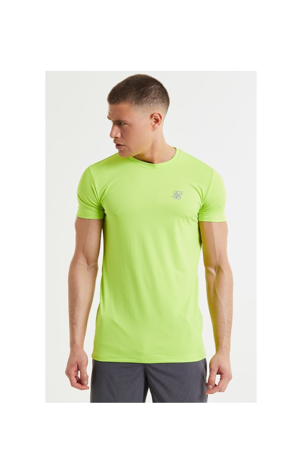 SikSilk Core Poly Tee - Yellow (2)