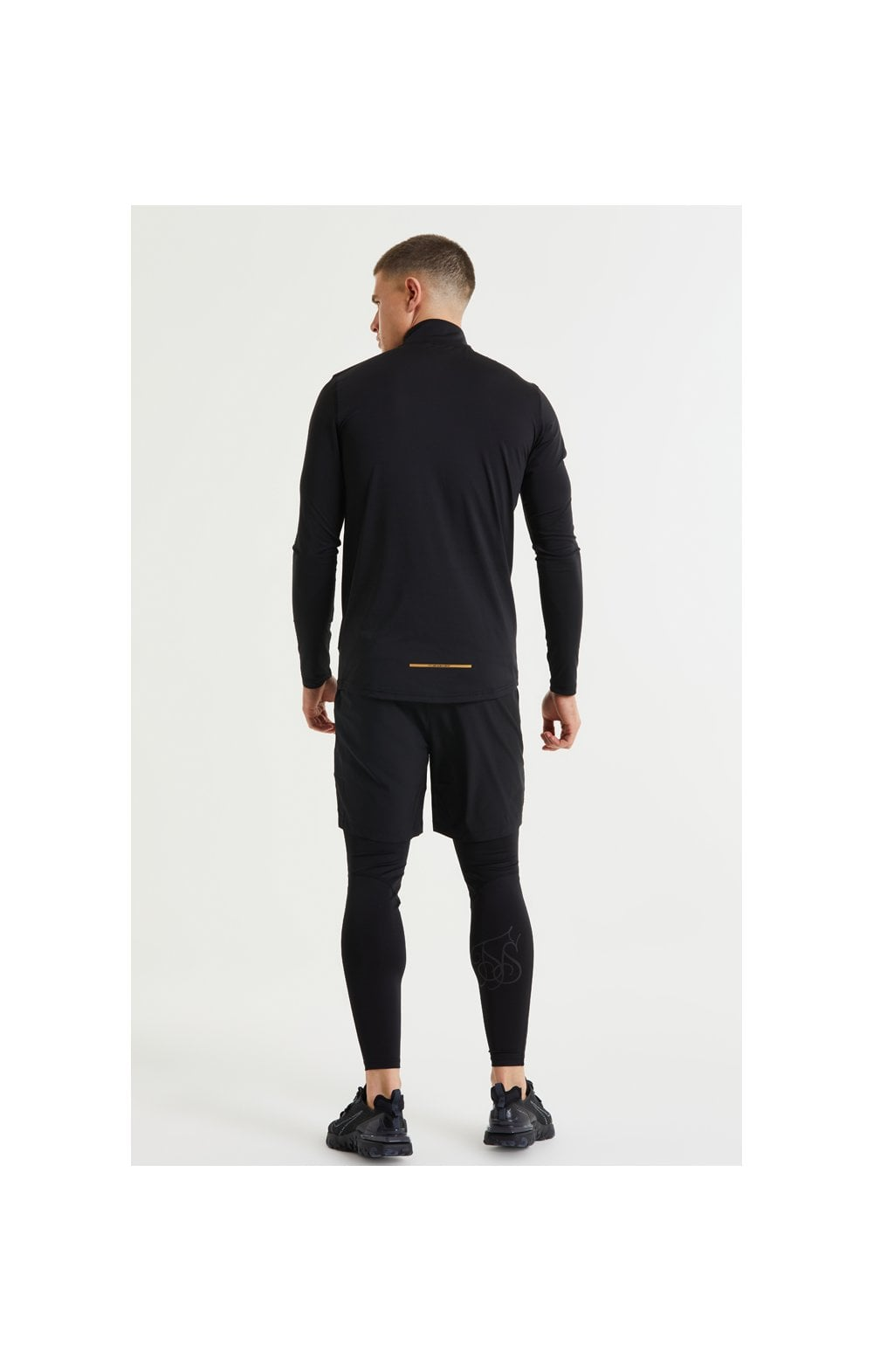 Load image into Gallery viewer, SikSilk Pressure Zip Funnel Neck - Black (5)