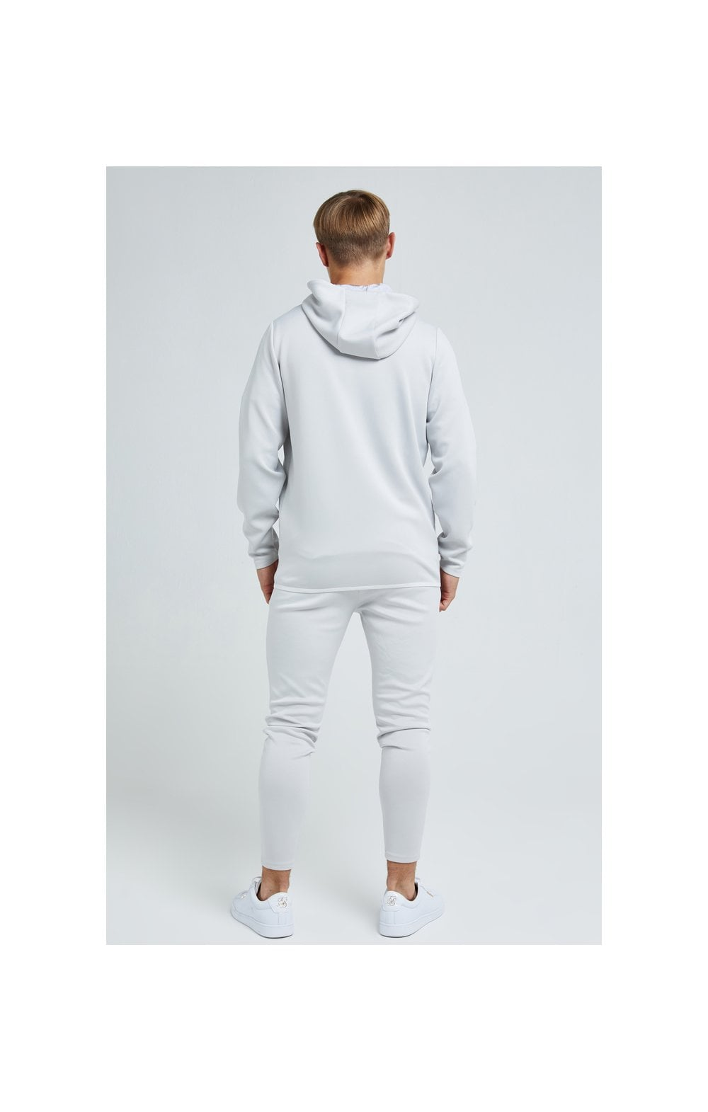 Load image into Gallery viewer, Illusive London Apex Agility Zip Through Hoodie - Grey (5)