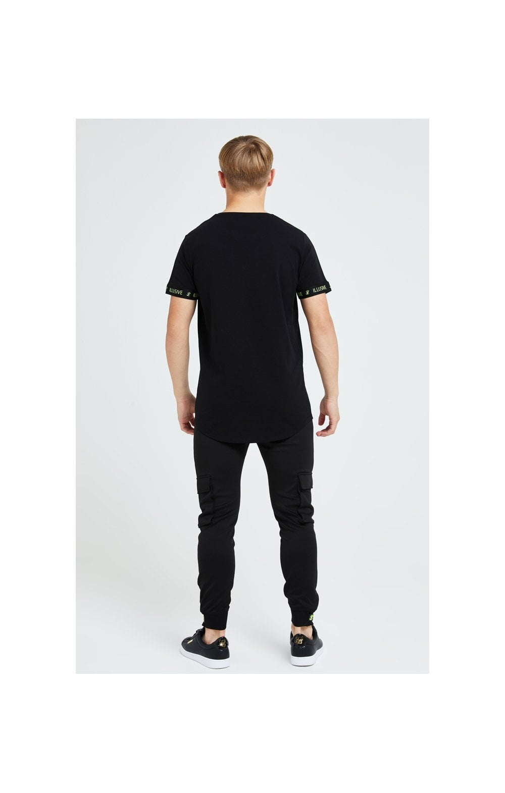 Illusive London Element Tech Tee - Black & Green (3)