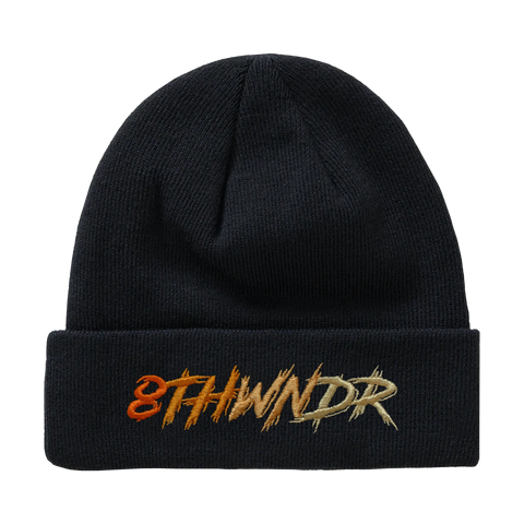LOGO FADE BEANIE BLACK / ORANGE