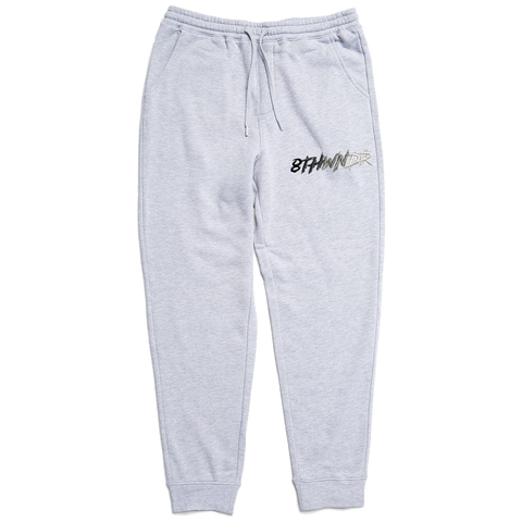 LOGO FADE SWEATPANT GREY