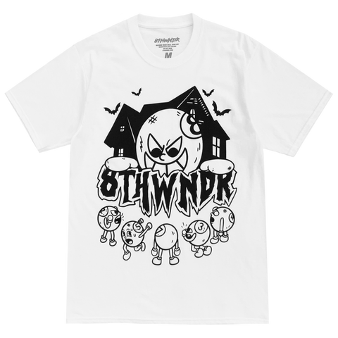 HAUNTED HOUSE TEE WHITE