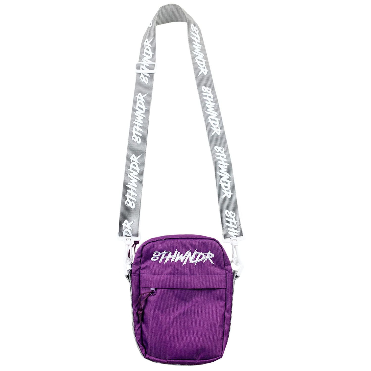 LOGO SHOULDER BAG PURPLE
