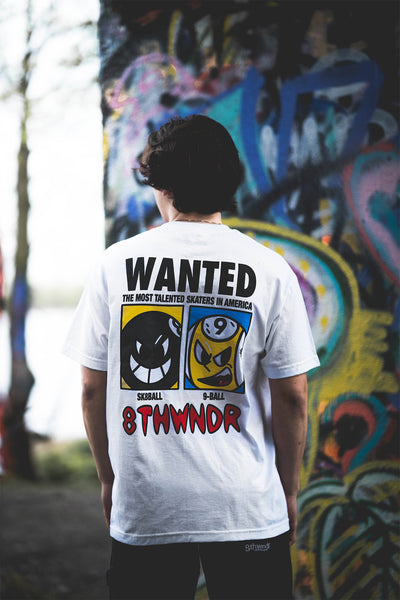 WANTED TEE WHITE
