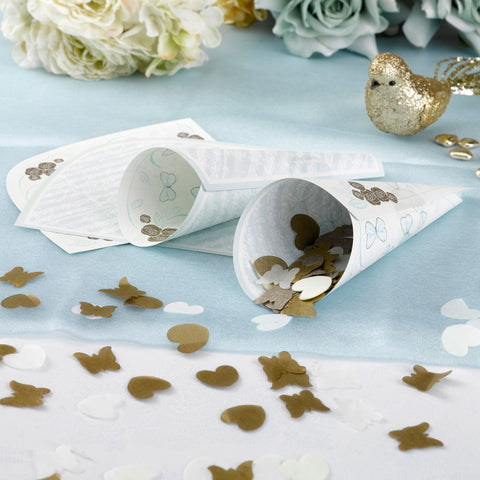 Confetti Cones - Butterflies - Wedding Confetti Shop