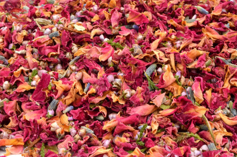 Natural Confetti - Autumn - Wedding Confetti Shop