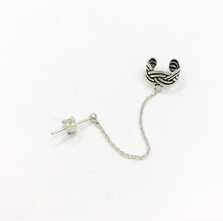 Aro Earcuff Simple Plata 925