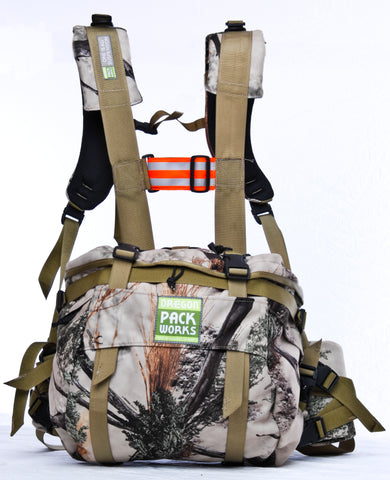 Lumbar Pack in Open Range pattern