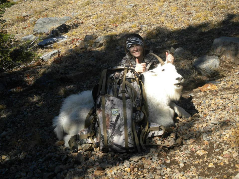 Mountain Goat with Orion back pack
