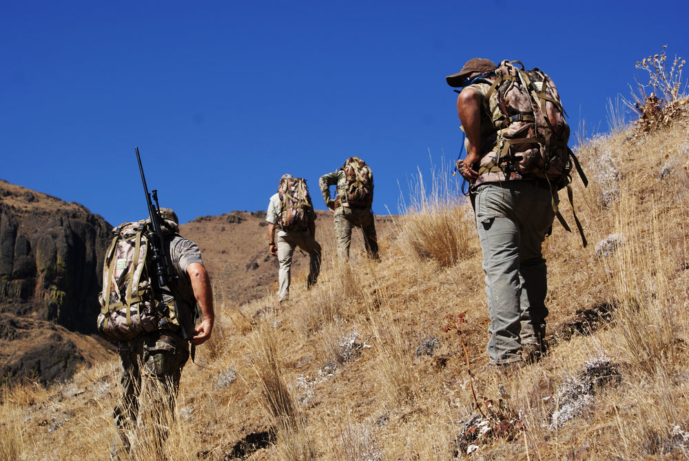 Orion packs on Bighorn Sheep hunt