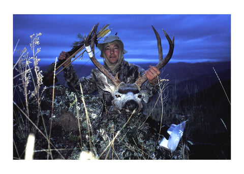 Hells Canyon traditional killed mule deer