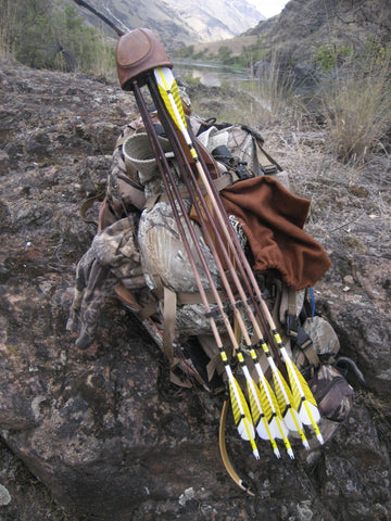 Recurve Bow and Quiver
