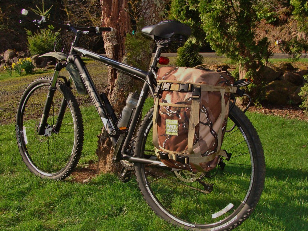Bicycle Pannier Compatible Daypack