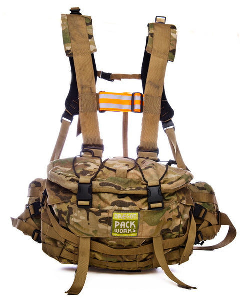 Lumbar Day-Patrol Pack with Suspension