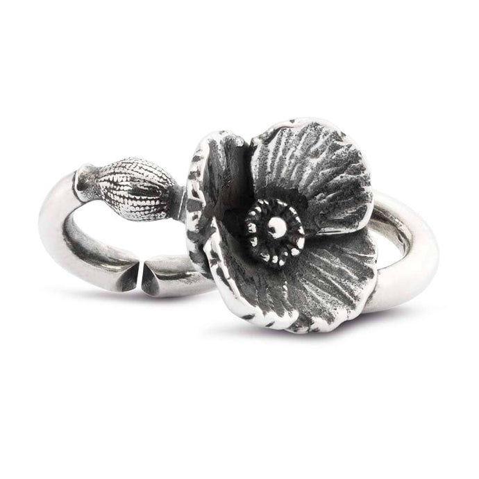 Poppy decadence double silver link