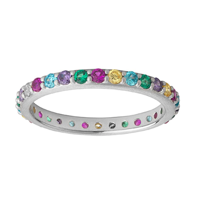 Rainbow Sparkle Ring